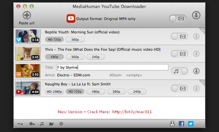 MediaHuman YouTube Downloader 3.9.8.13 Cracked Serial For Mac OS Free Download