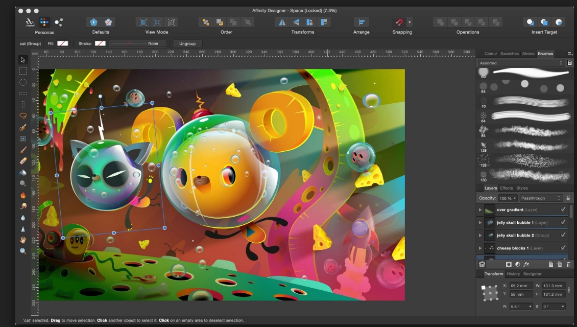 Affinity Designer 1.4.2(1.4.3) Cracked Serial For Mac OS X Free Download