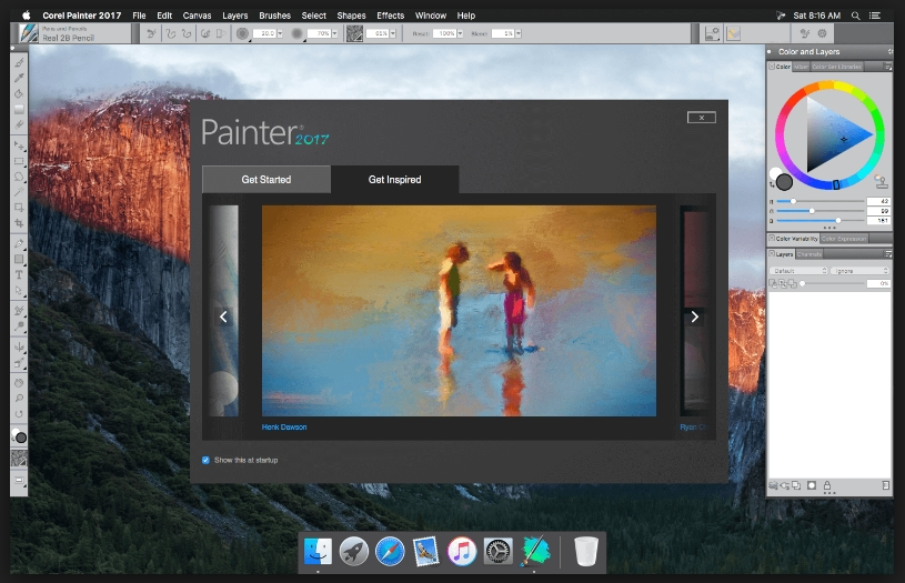 Corel Painter 2017 v16.1.0.456 Serial For Mac OS X Free Download