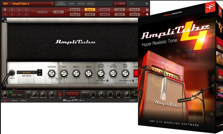 IK Multimedia AmpliTube 4 Complete 4.0.3 Serial For Mac OS X