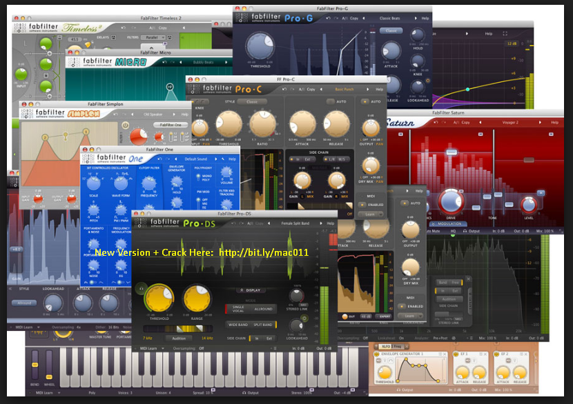 FabFilter Total Bundle v2017.03.25 Cracked Serial For Mac OS X Free Download