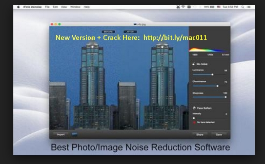 iFoto Denoise 2.4 Cracked Serial For Mac OS X Free Download