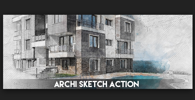 GraphicRiver Tech Sketch Photoshop Action Cracked For Mac OS X