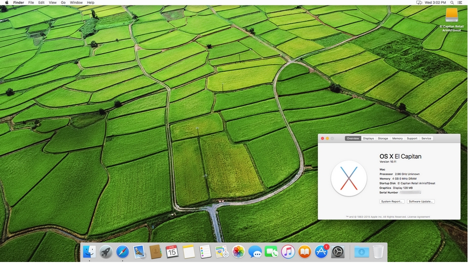 MAC OS X 10.11 El Capitan For Windows PC Free Download