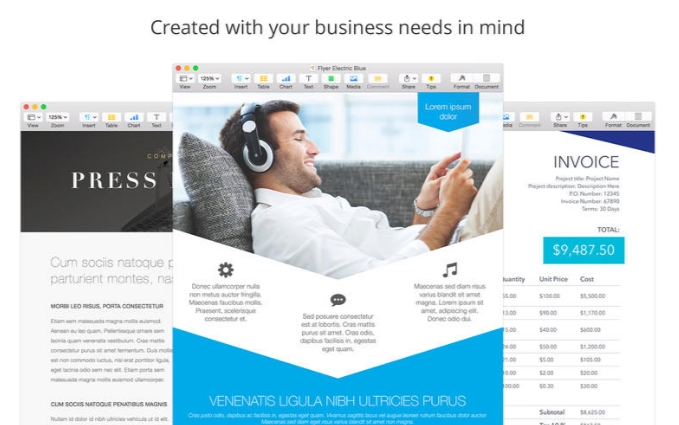 Business Mix for Pages 3.0.4 Cracked Serial For Mac OS X Free Download