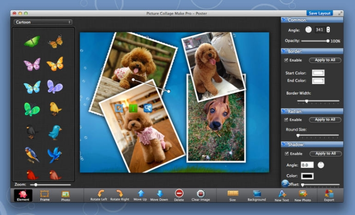 Photo Collage Maker Pro 3.1.9 Cracked Serial For Mac OS X Free Download