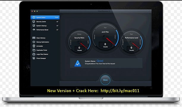 MacBooster 6.0.0 Cracked Serial For Mac OS X Free Download