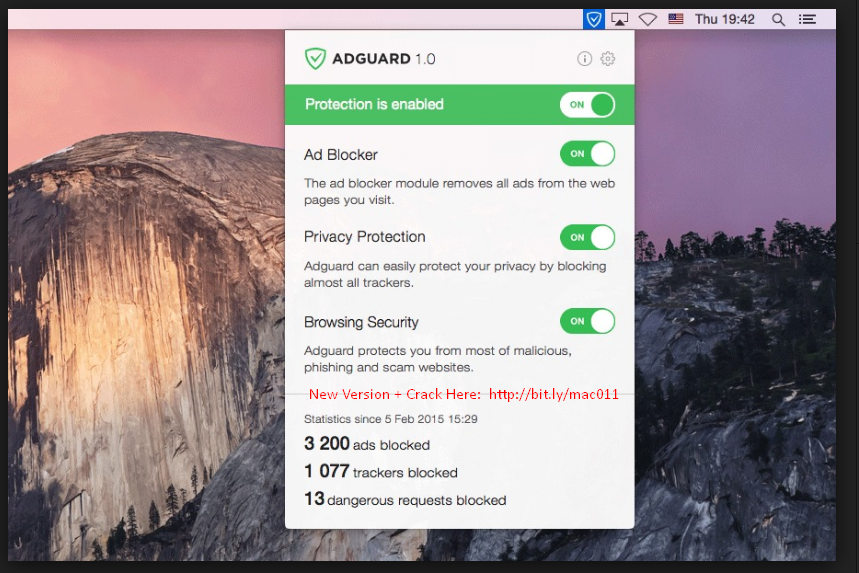 Adguard 1.4.1 Cracked Serial For Mac OS X Free Download