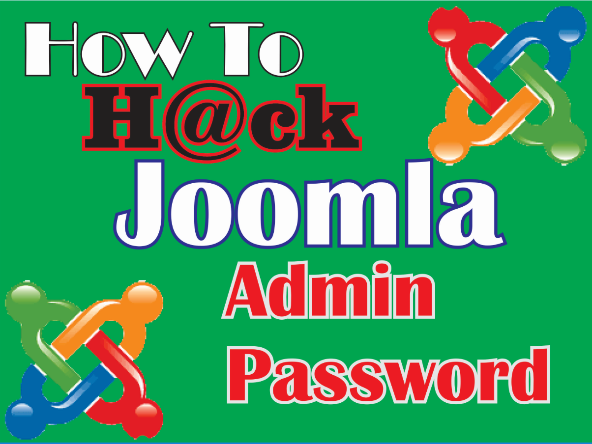 Jooma admin password hack via perl script