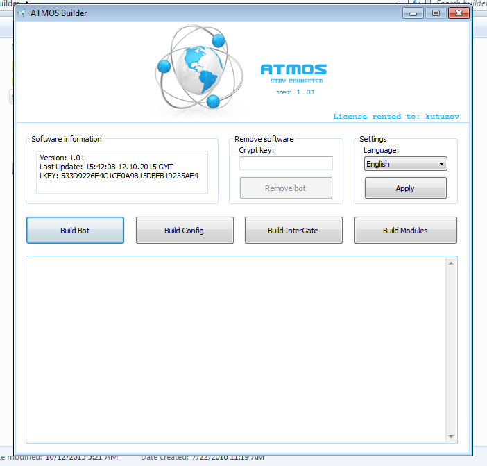 Atmos Banking trojan Cracked [Re-uploaded]