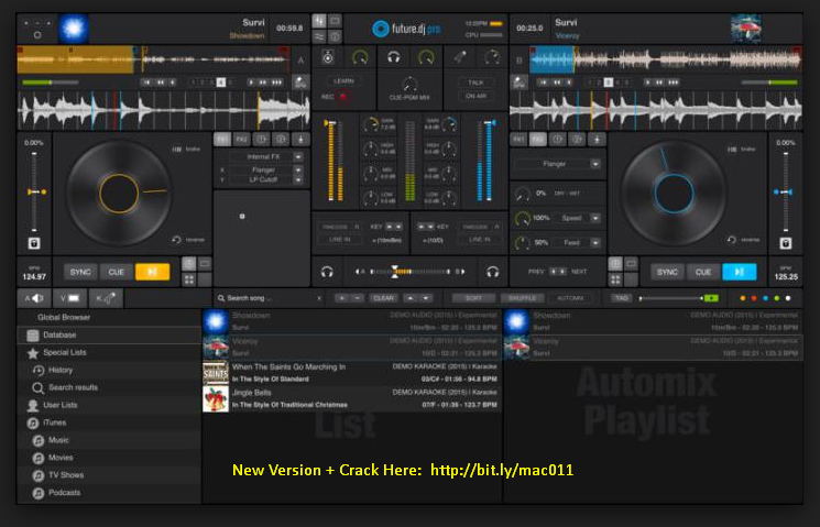 Future DJ Pro 1.5.1 Cracked Serial For Mac OS X Free Download
