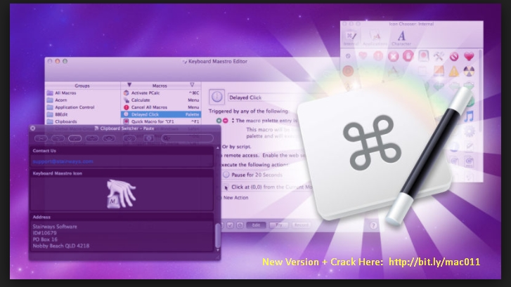 Keyboard Maestro 8.0.1 Cracked Serial For Mac OS X Free Download