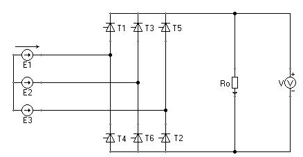 three phase bridge rectifier calculations
