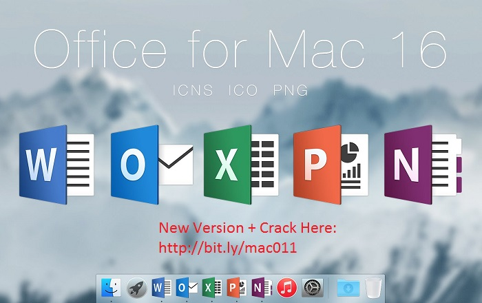 Microsoft Office 2016 v15.40.17 Activation Cracked For Mac OS X Free Download