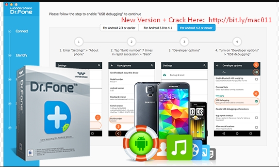 Wondershare Dr.Fone for Android 1.4.1 Cracked Serial For Mac OS X Free Download
