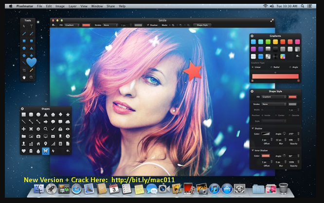 Pixelmator 3.4.3 Cracked Serial For Mac OS X Free Download