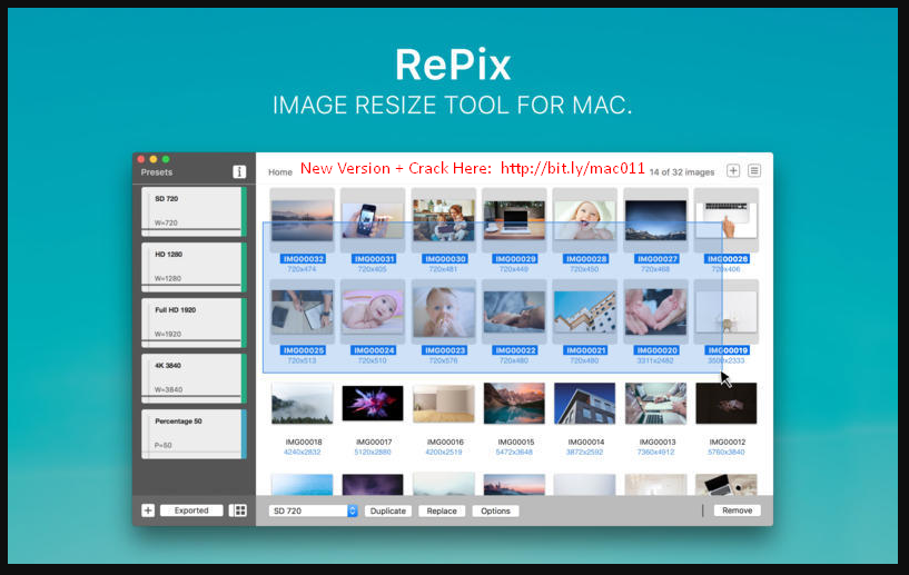 RePix 1.3.2 Cracked Serial For Mac OS X Free Download
