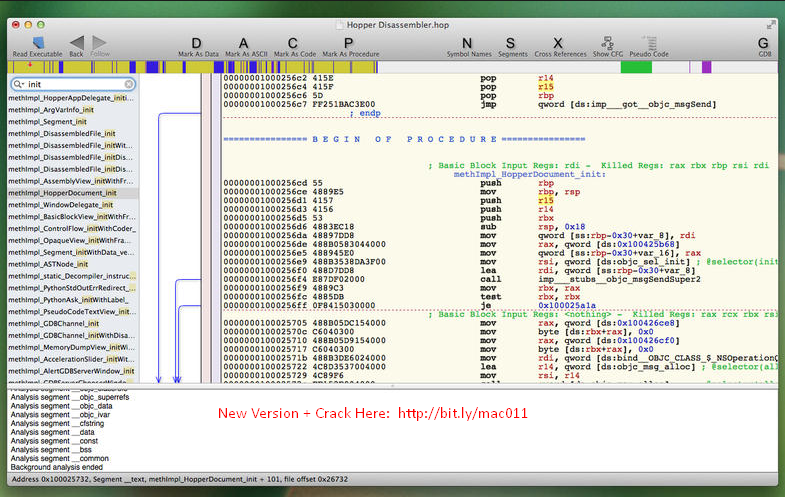 Hopper Disassembler 4.2.1 Cracked Serial For Mac OS X Free Download