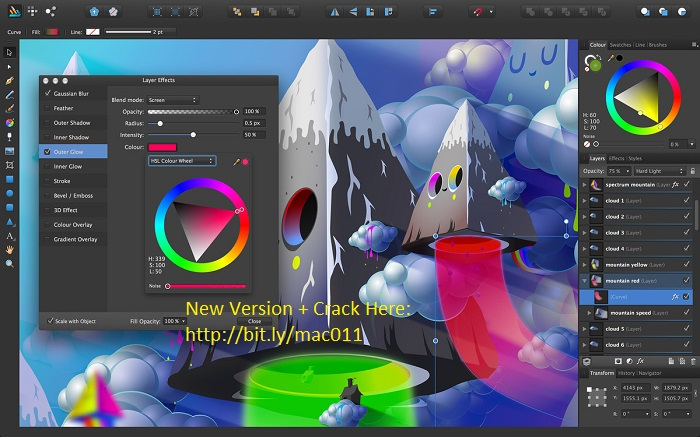 Affinity Photo 1.5.2 Cracked Serial For Mac OS X Free Download