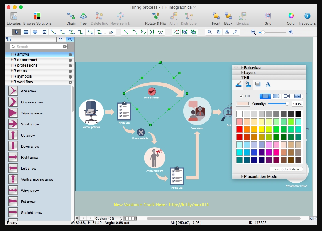 ConceptDraw Office 4.10 Cracked Serial For Mac OS X Free Download