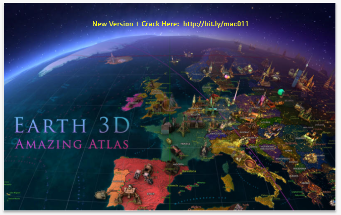 Amazing Earth 3D Atlas 2.0 Cracked Serial For Mac OS X Free Download