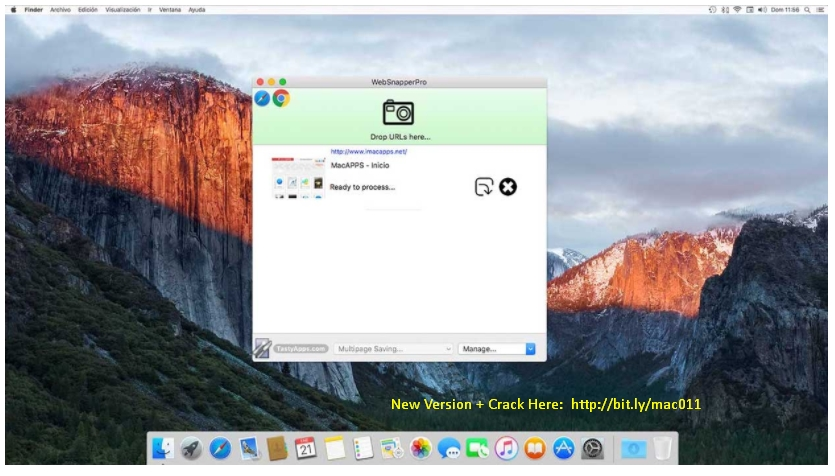 WebSnapperPro 1.2.9 Cracked Serial For Mac OS X Free Download