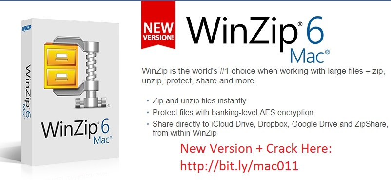 WinZip 6.0 Cracked Keygen For Mac OS X Free Download